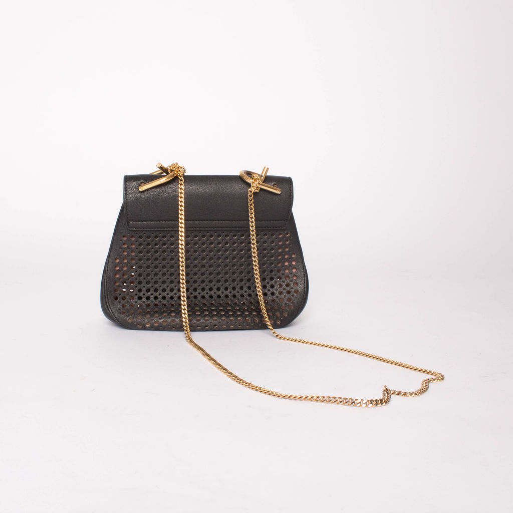 e56c428bca Chloe Drew Mini Perforated Shoulder Bag | Basic Space