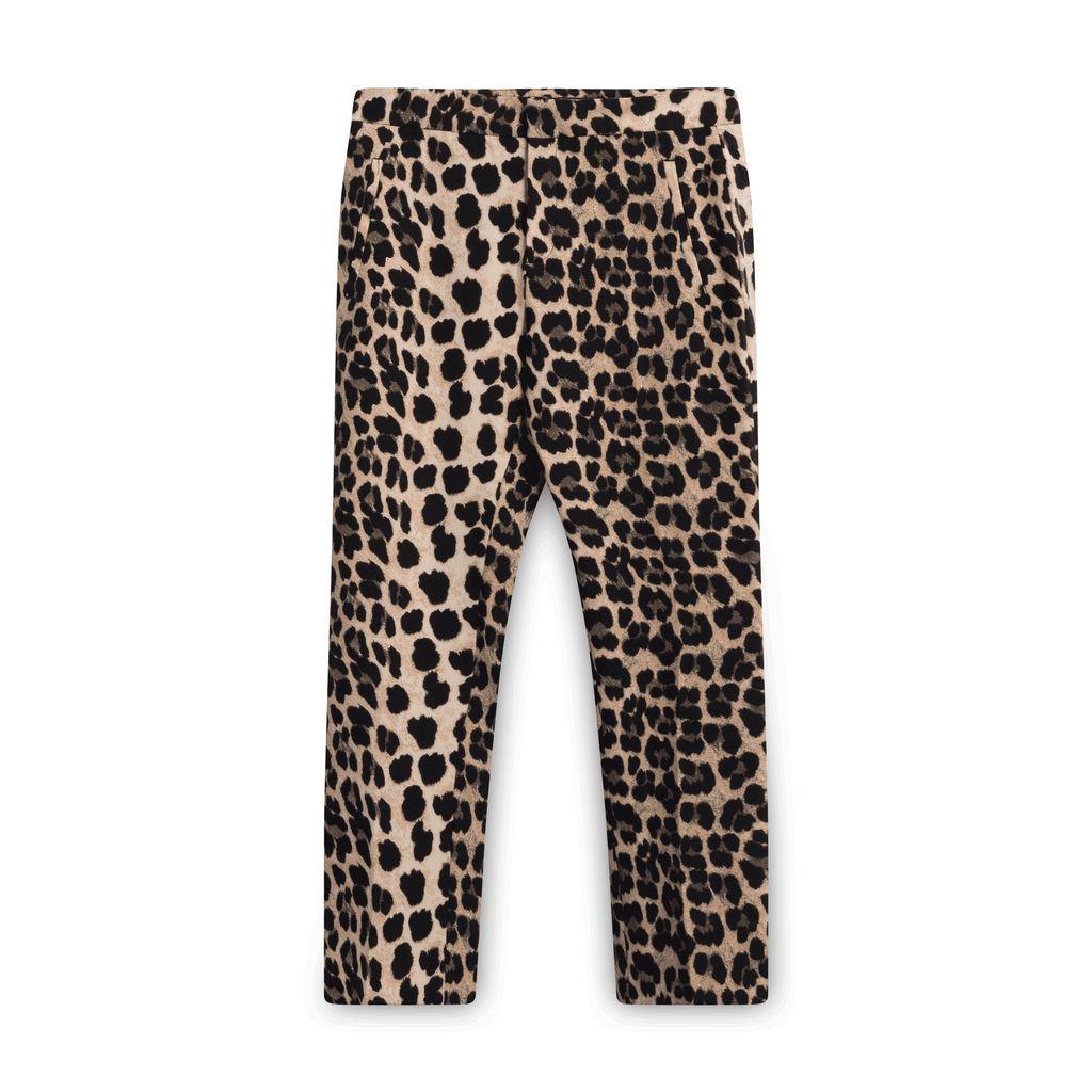 Zara Leopard Print Trousers