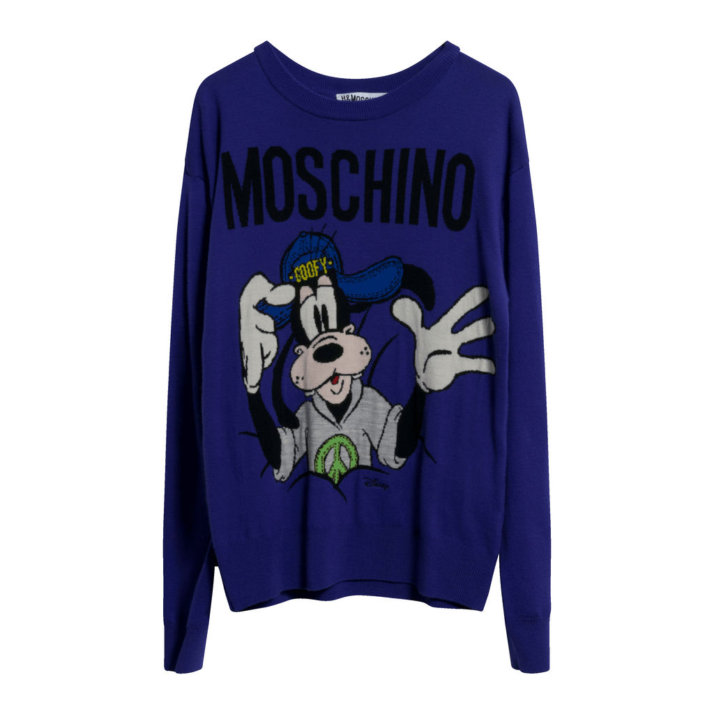 Moschino x H&M Merino Wool Goofy Sweater