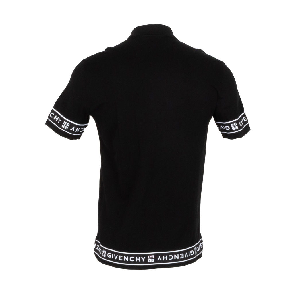 Givenchy 4G Black Band Polo