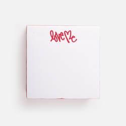 """""""Love Me"""" Sticky Notes"""