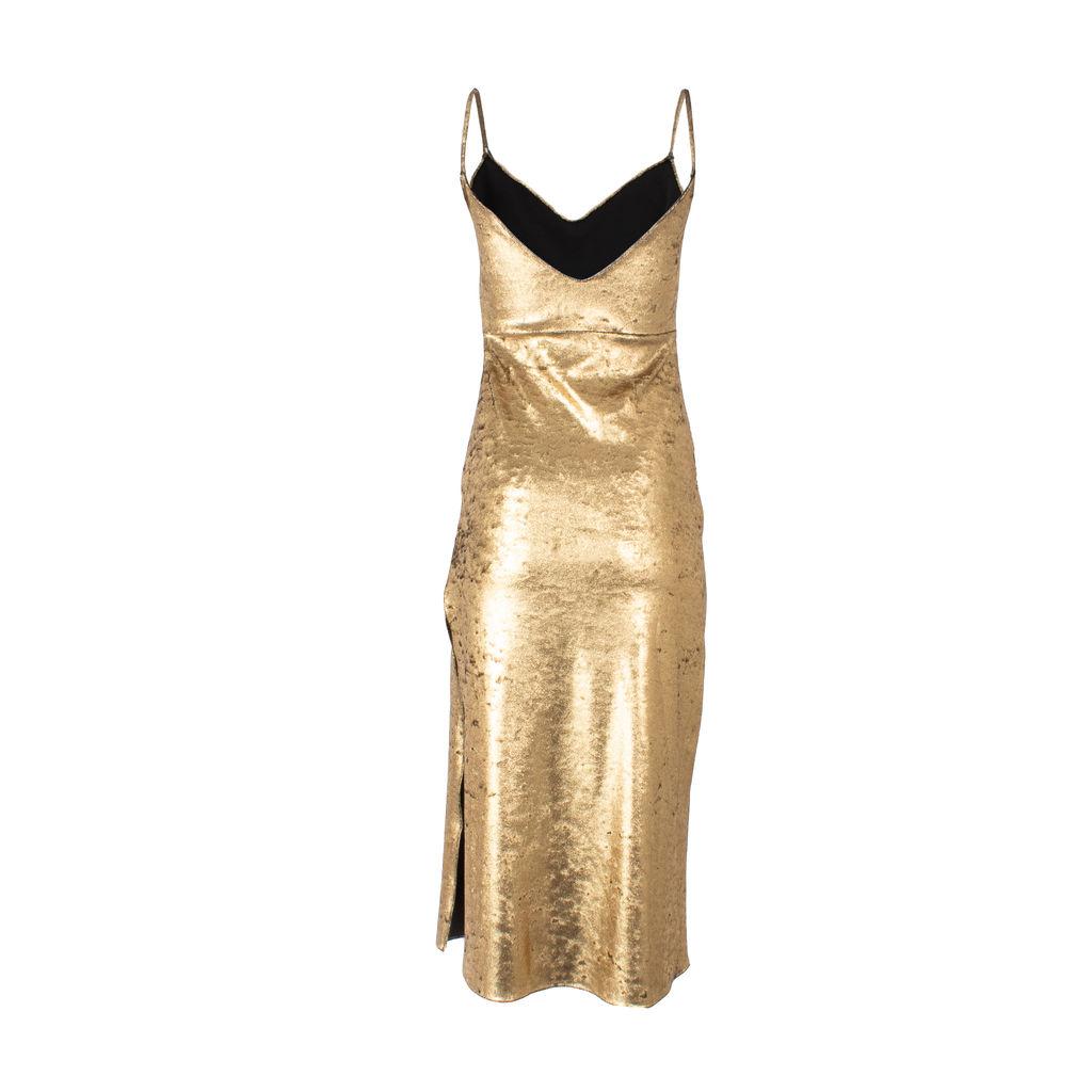 Dannijo Zelda Midi Stretch Slip Dress