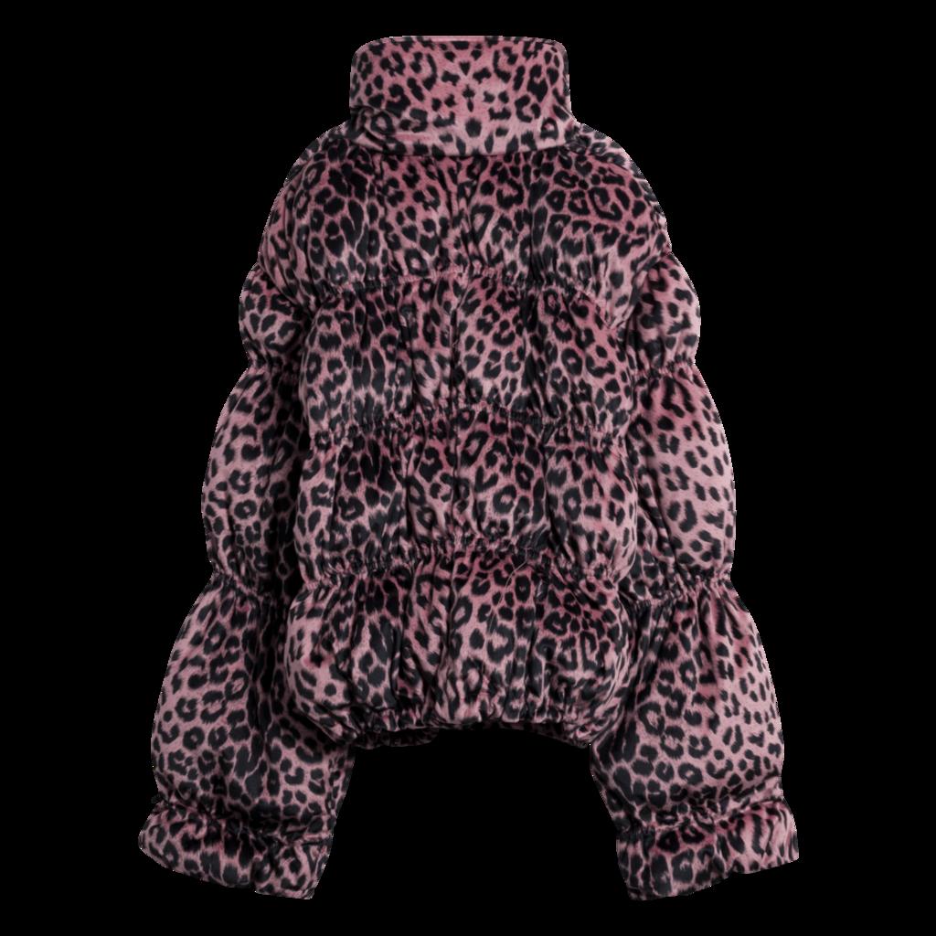 LPA Sora Leopard Puff Jacket