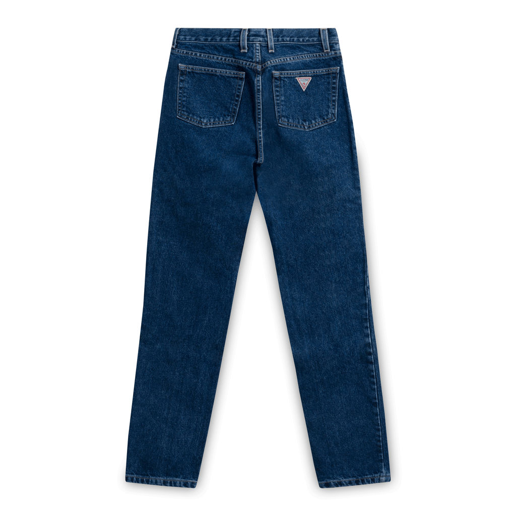 Guess 050 Original Fit Narrow Leg Jeans-Dark Blue