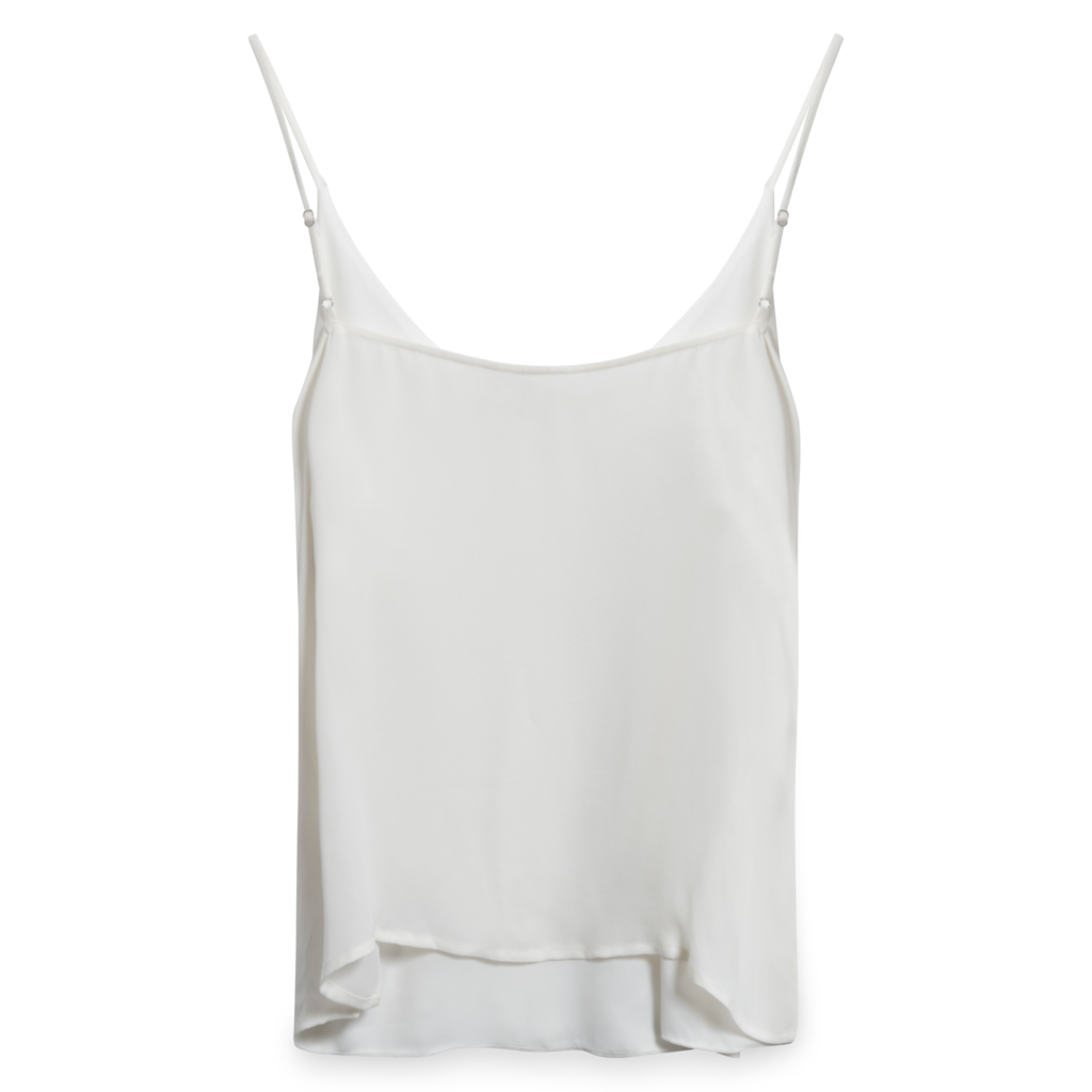 L'Agence Jane Silk Camisole in Ivory