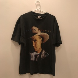 Vintage Garth Brooks T-Shirt curated by Matthew Hwang