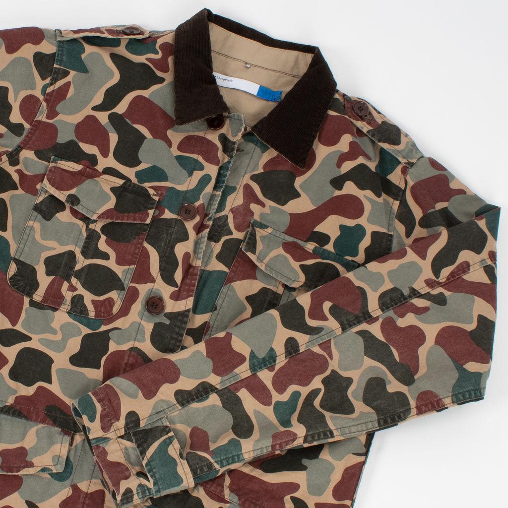 Adidas Originals Camo Field Jacket