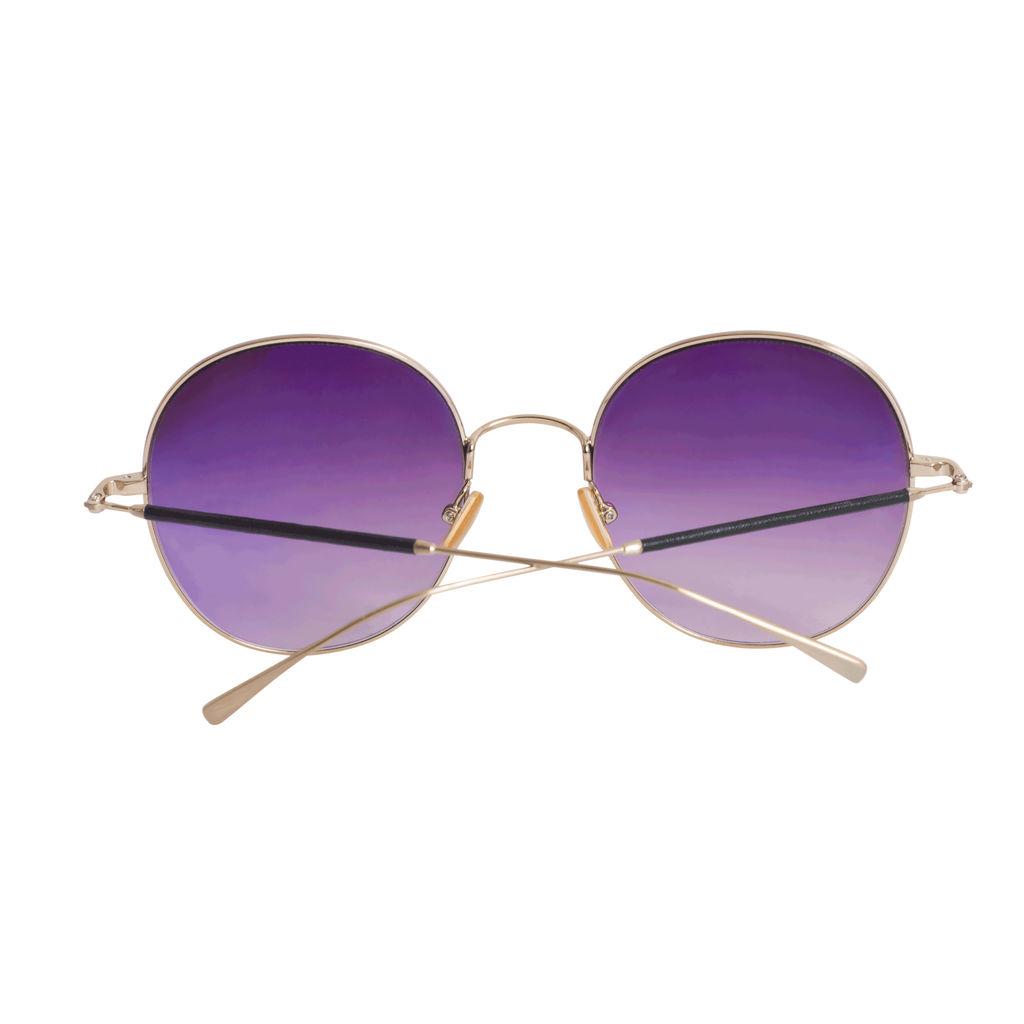Derek Lam Model Salma Round Sunglasses