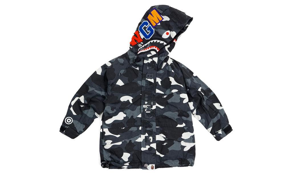 BAPE City Camo Shark Snowboard Jacket