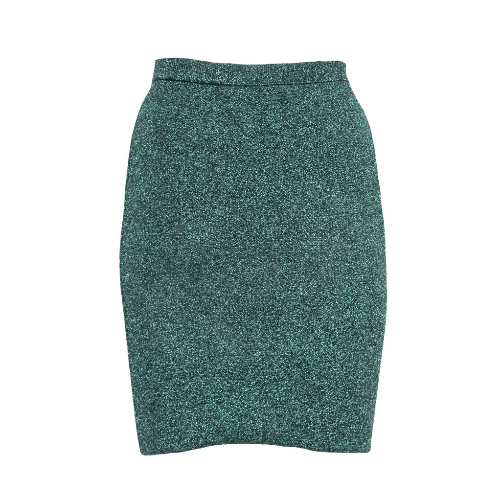 Alexander Wang Sparkle Knit Pencil Skirt
