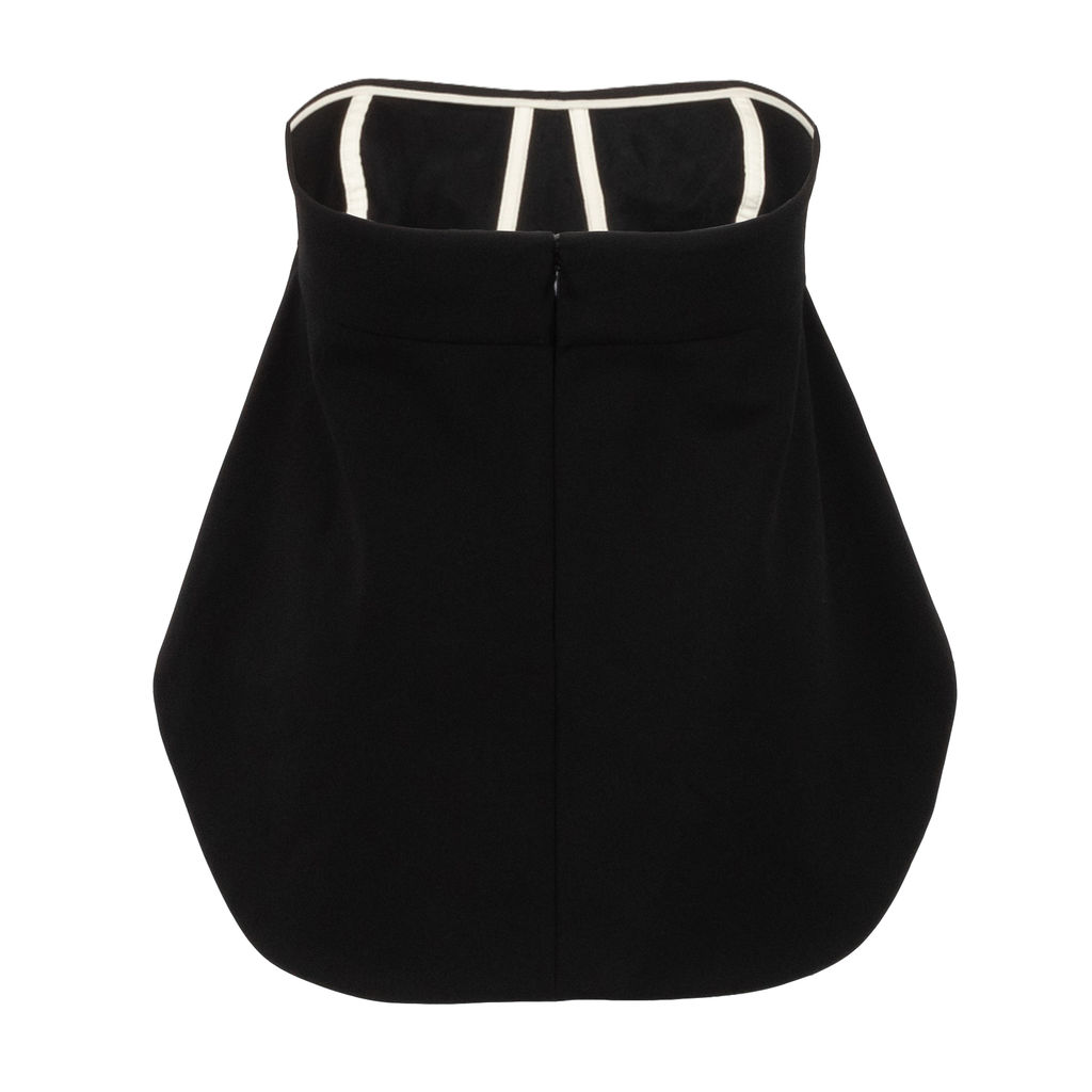 Balenciaga Flared Bottom Bra Top