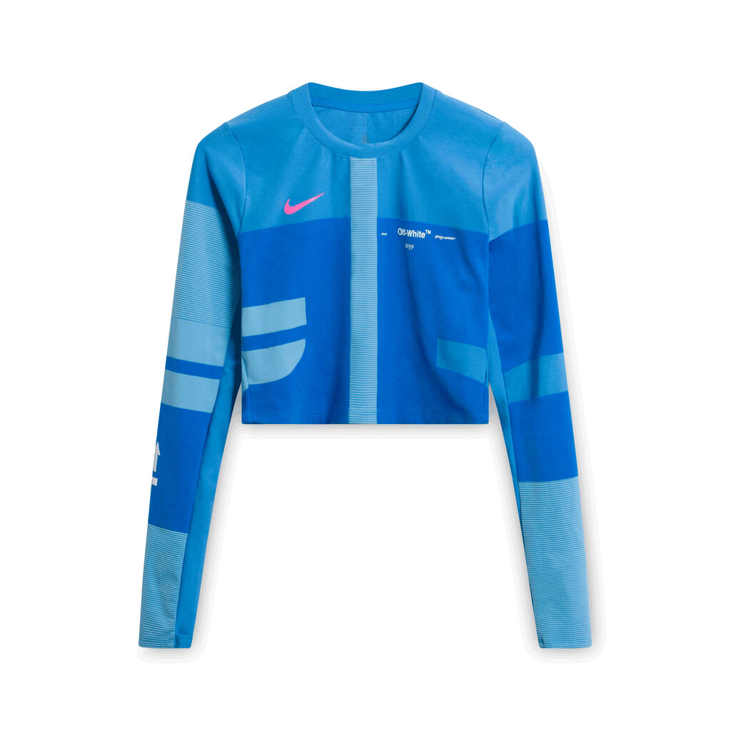 Nike x Off-White Sport Blue Workout Top