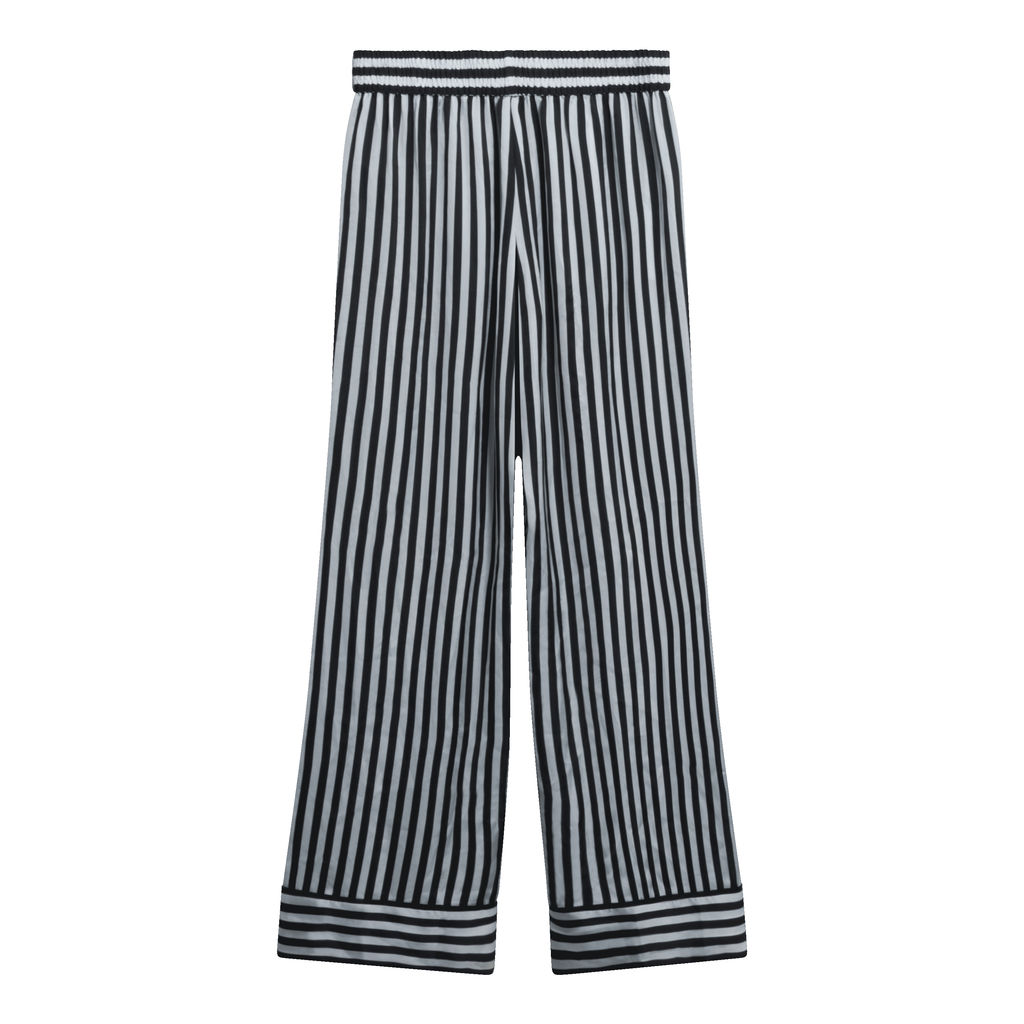 Alice + Olivia by  Morgan Lane Wide Leg Stripe Pants