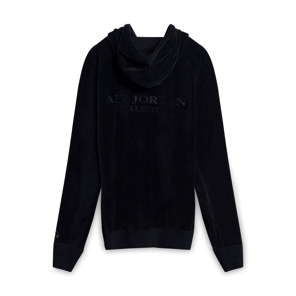 OVO x Air Jordan Black Velour Sweatshirt