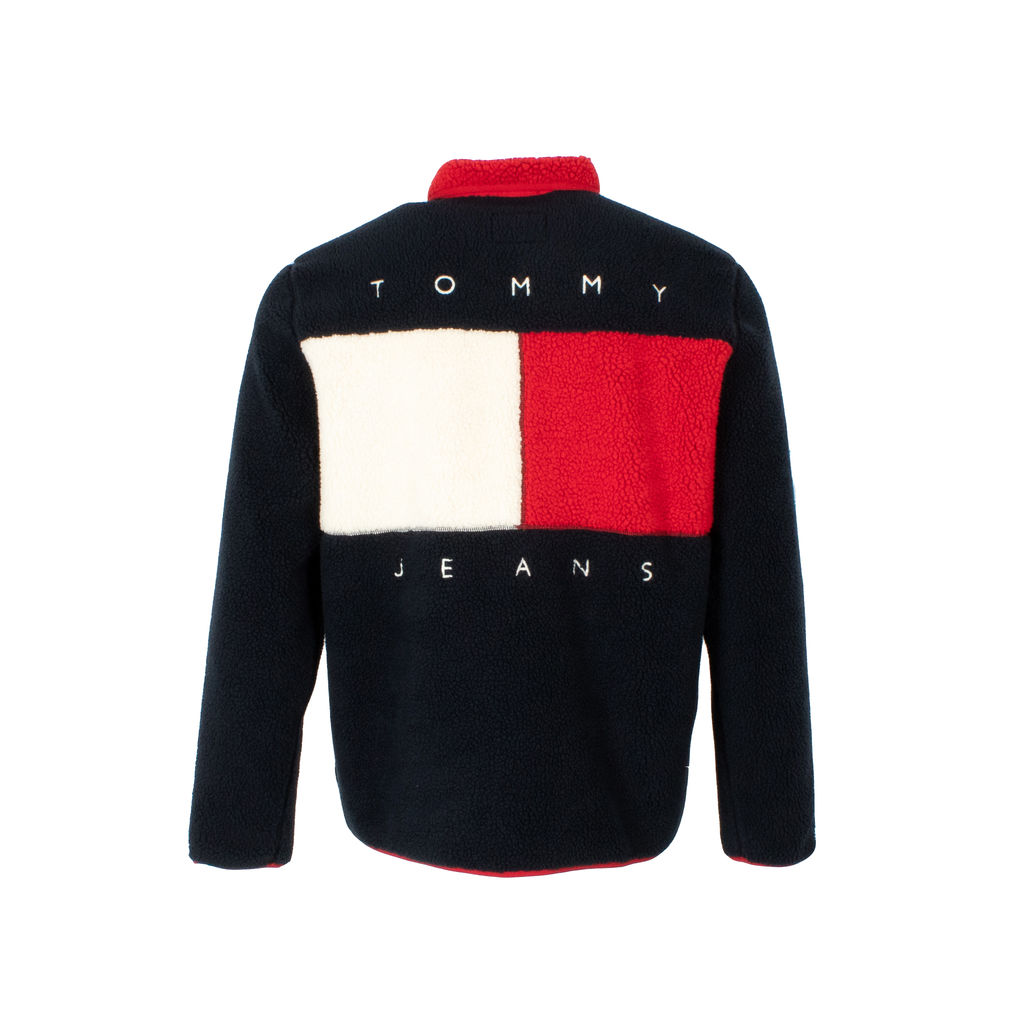 Tommy Jeans Zip-Up Sherpa Jacket
