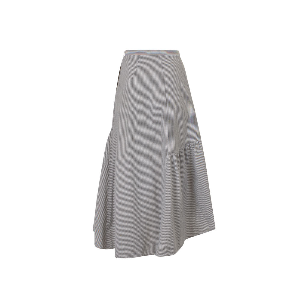 Rachel Comey Midi Striped Skirt