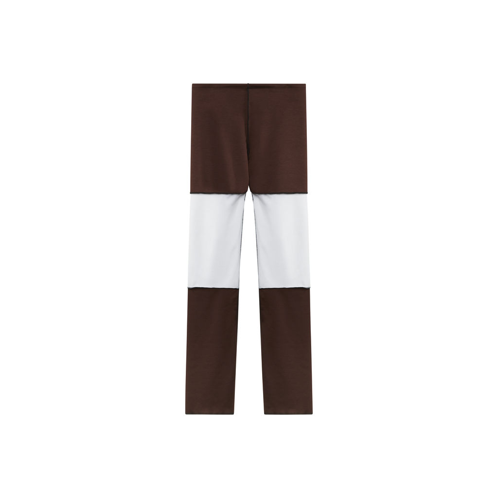JJVintage Reworked Pant in Brown/Beige