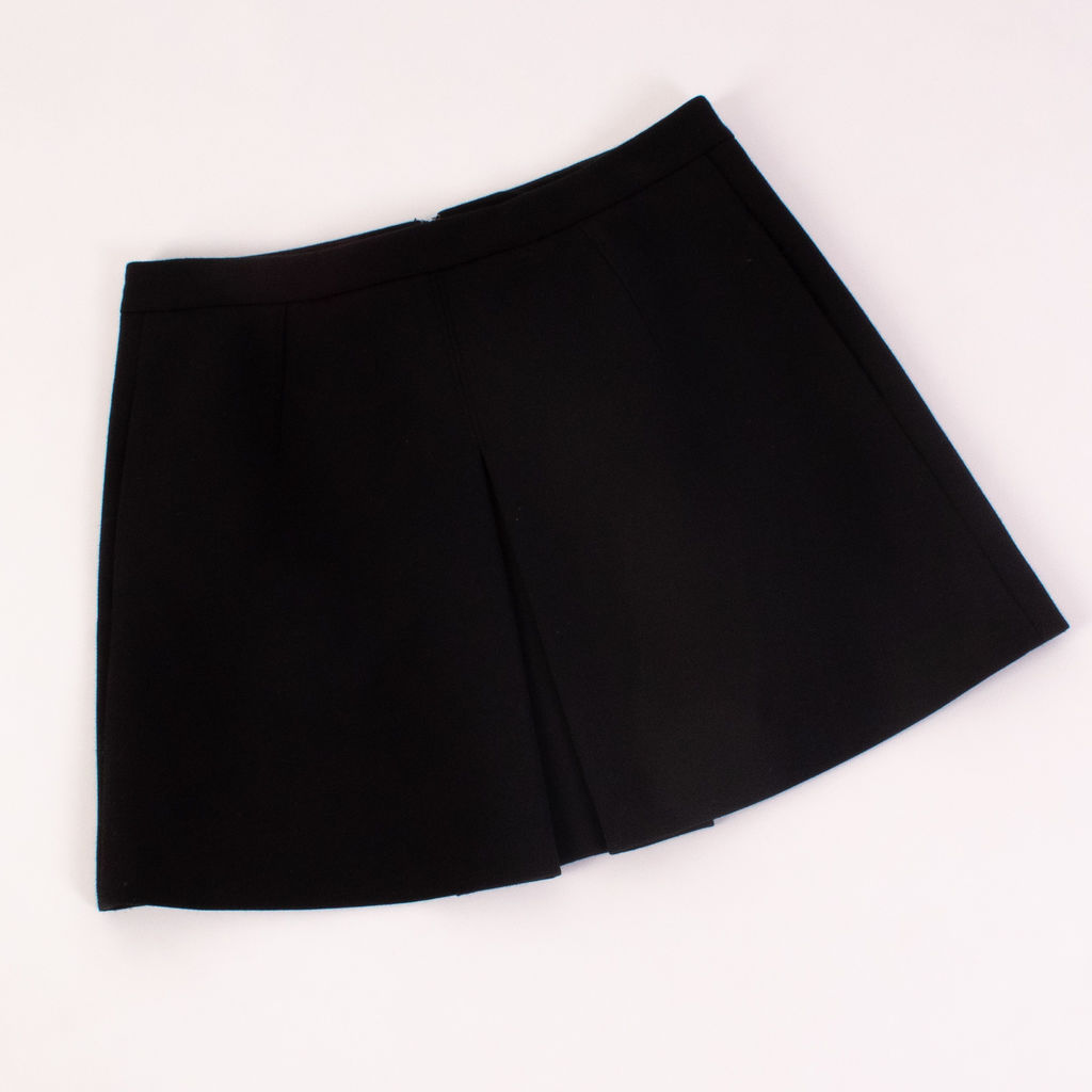 Vince Inverted Front Pleat Skirt