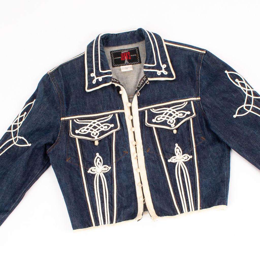 Jean Paul Gaultier Jean's Embellished Cropped Jacket