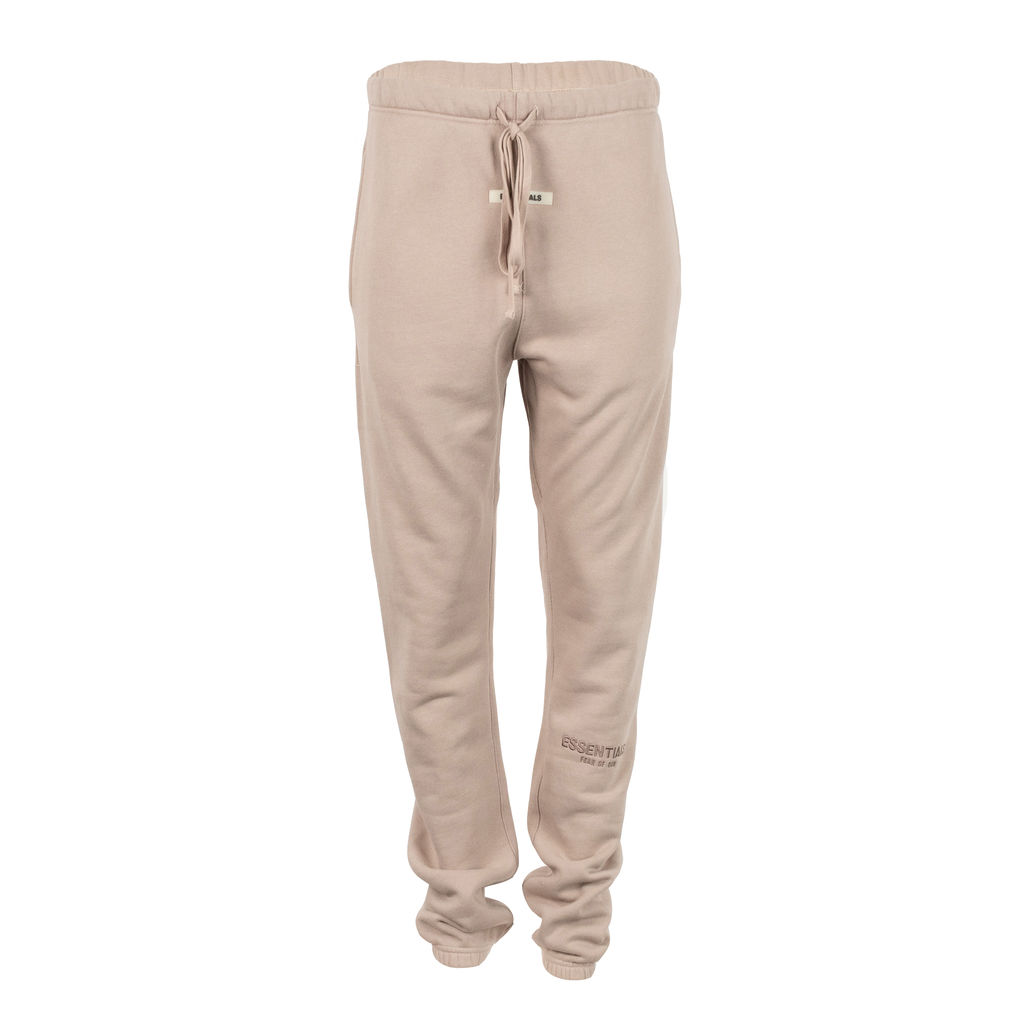 Fear of God Essentials Logo Sweatpants in Taupe