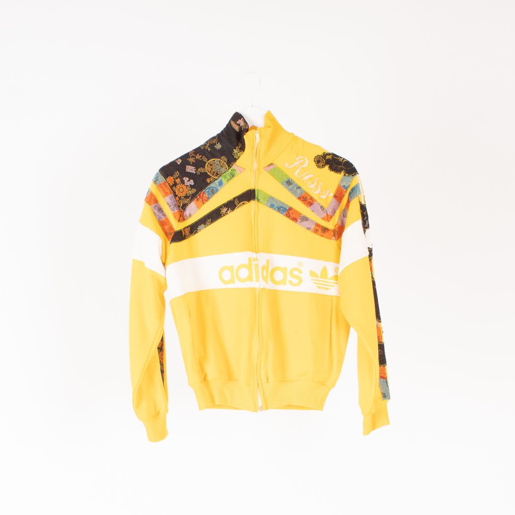 Adidas Custom Russo Patchwork Track Jacket
