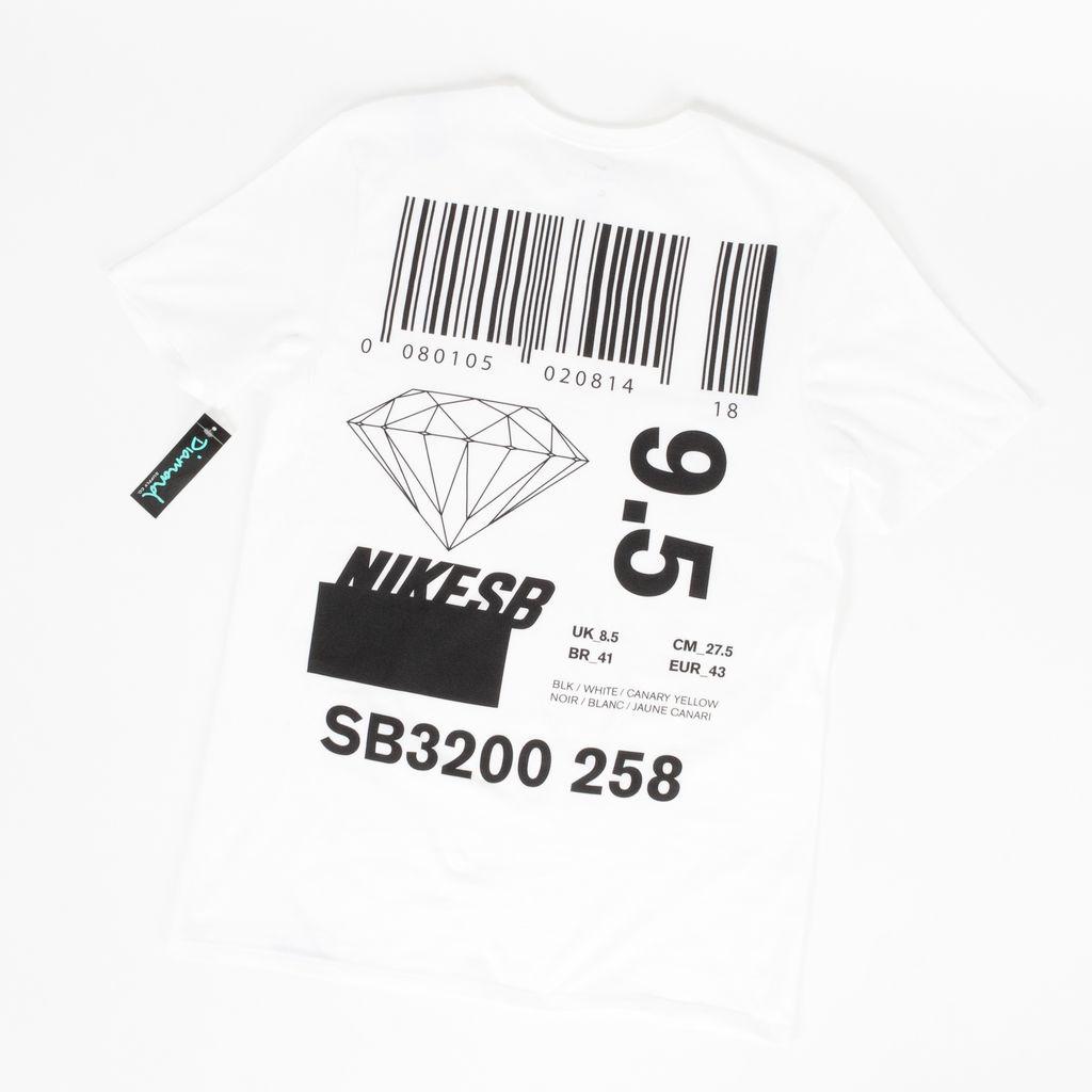 Nike SB Dunks T Shirt (white)
