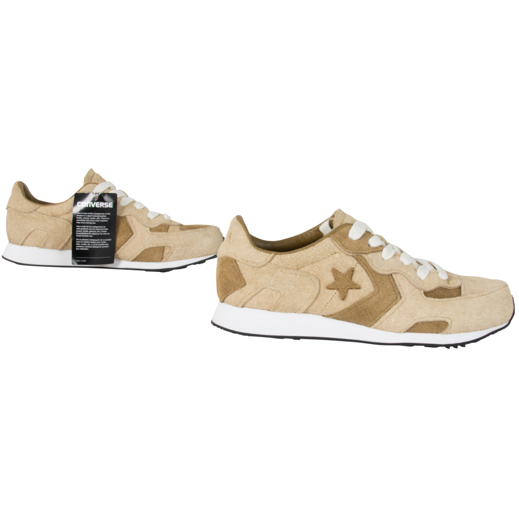 JW Anderson x Converse Gold Suede Thunderbolt
