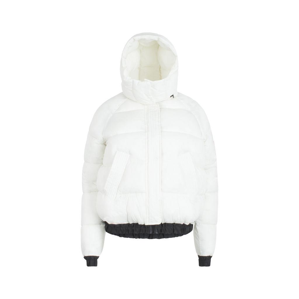 Ecoalf x Desigual White Puffer Jacket