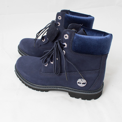 """Timberland 6"""" Nubuck Boot with Velvet Upper and Laces curated by Sami Miro"""