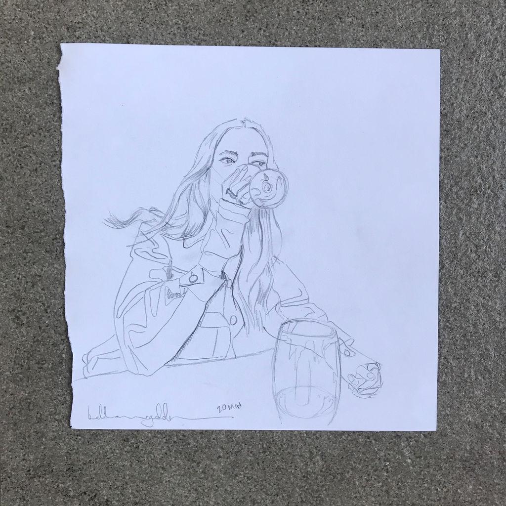 Scarlet Wants A Drink