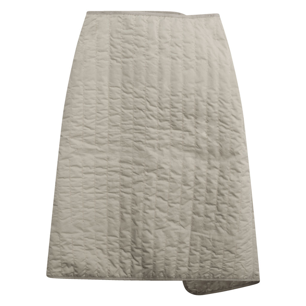Low Classic Padding Stitch Skirt in Khaki