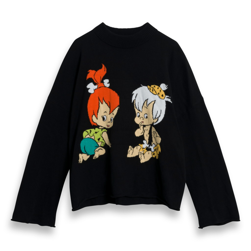 Lazy Oaf x Flintstones Sweater