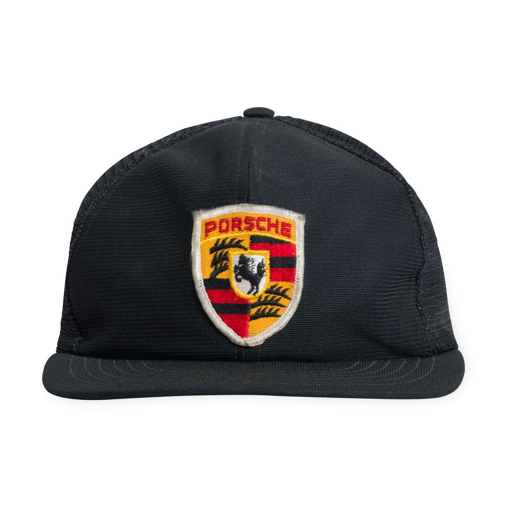 80s Porsche Trucker Hat (BLK)