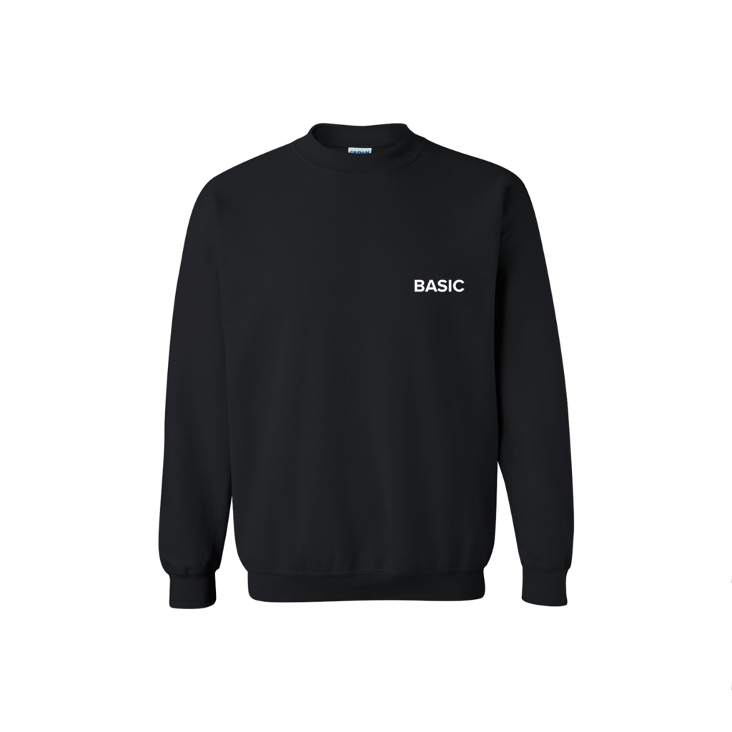 Basic Space Logo Crewneck