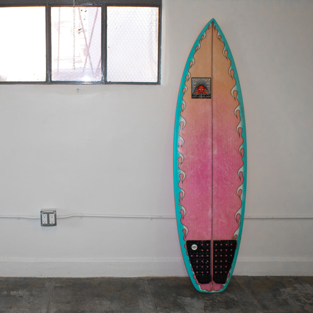 "Eye Symmetry ""Lucid Eye"" Surfboard"