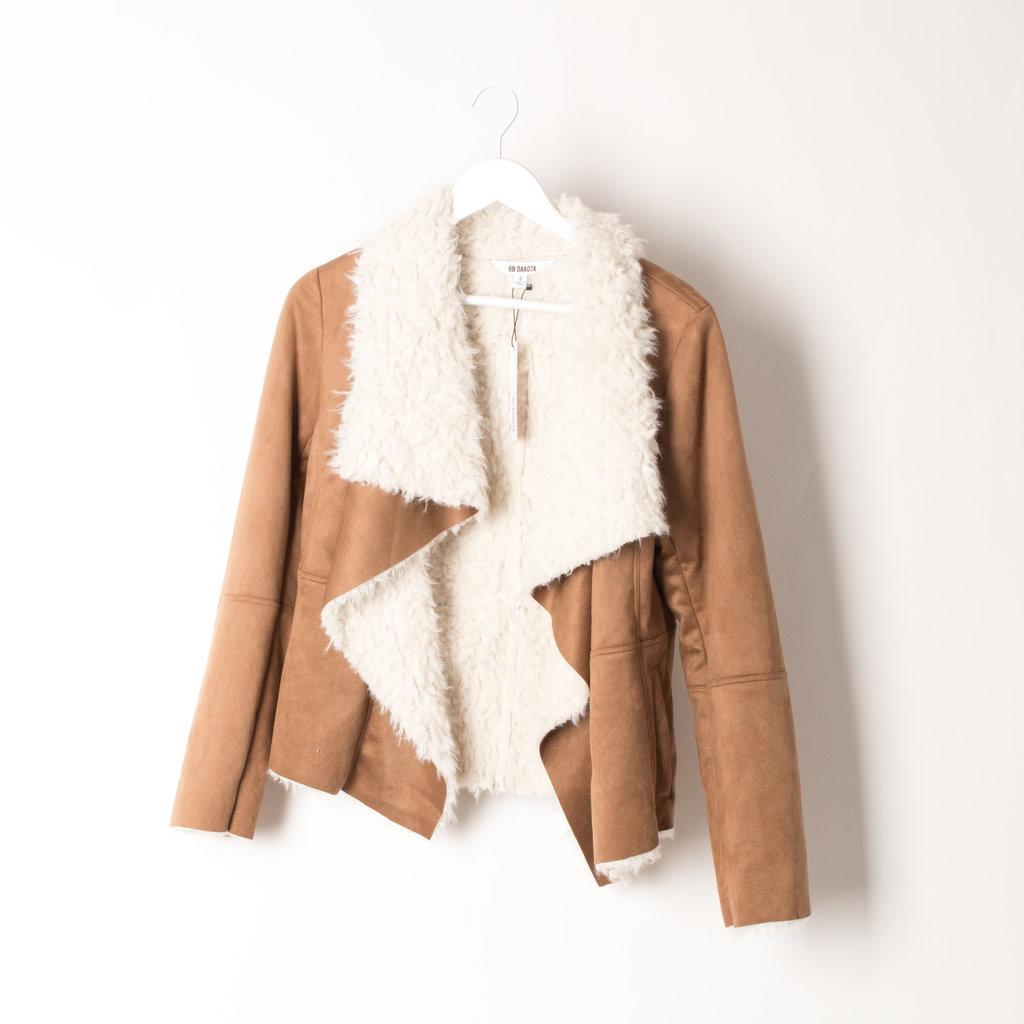 BB Dakota Faux Shearling Jacket