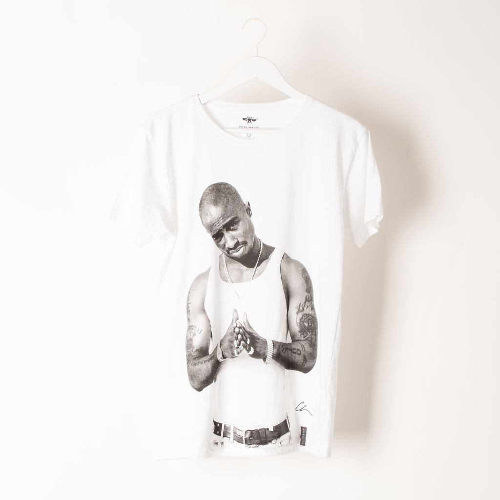 Limited Edition Mens Sustainable Tupac Chi-Shirt