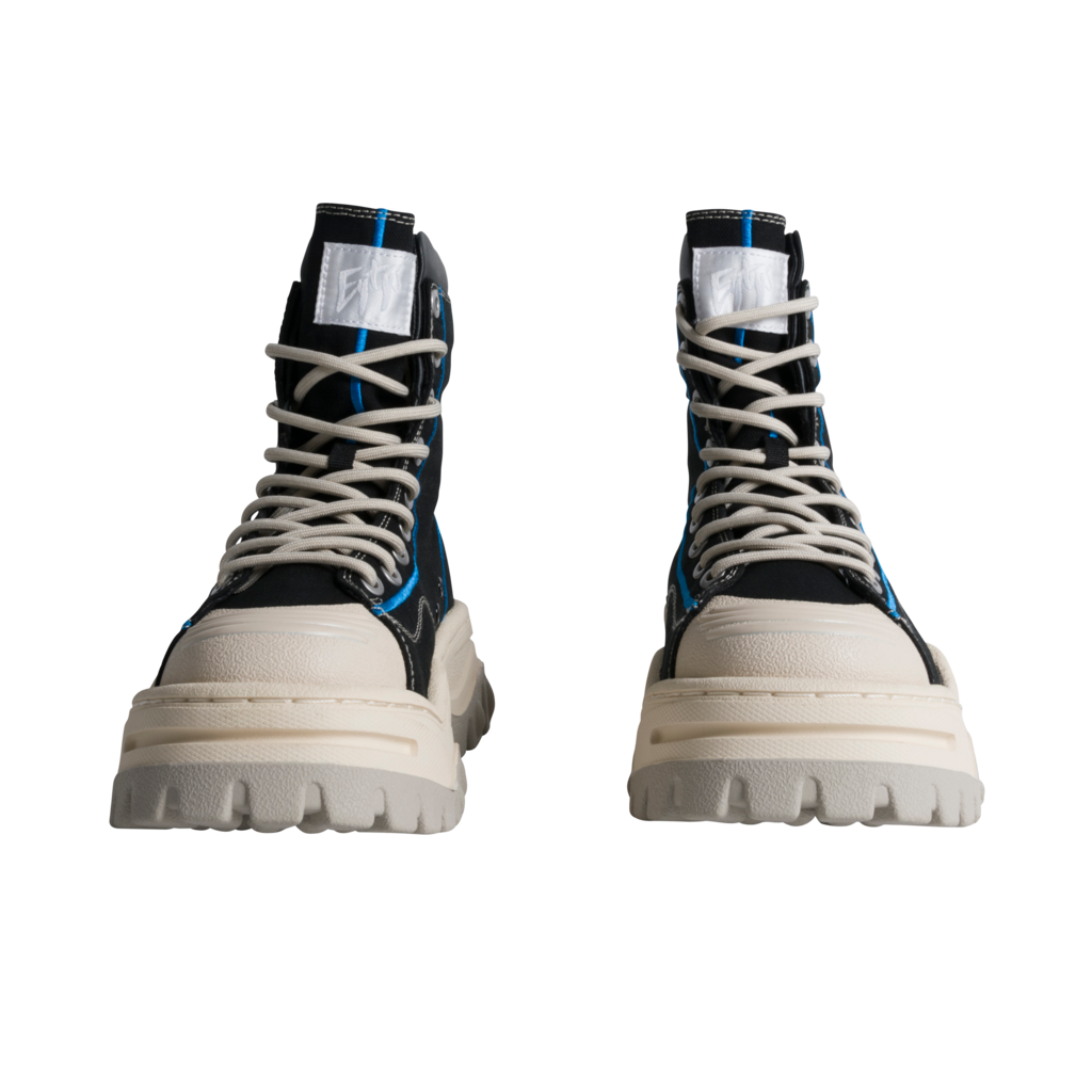 Eytys Akira Black High Top Sneakers
