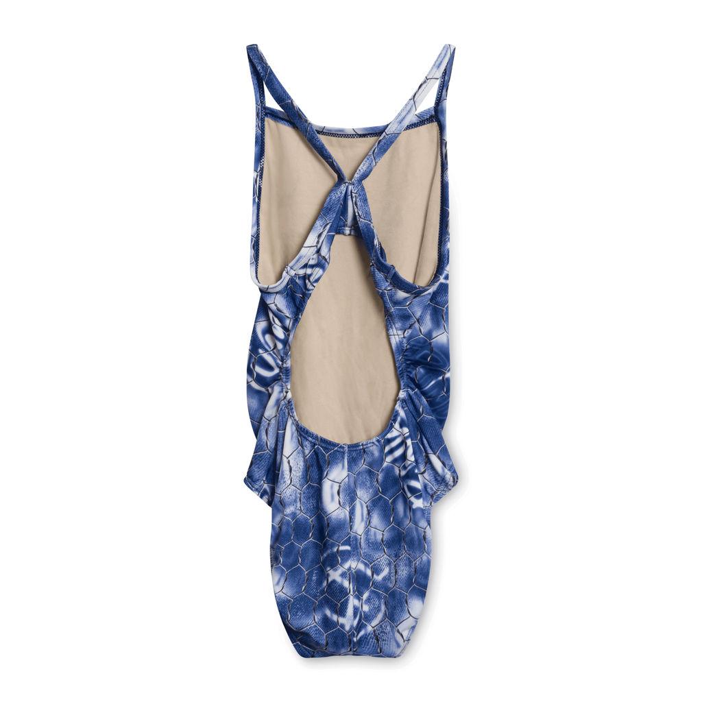 Vintage Wire Print Swimsuit