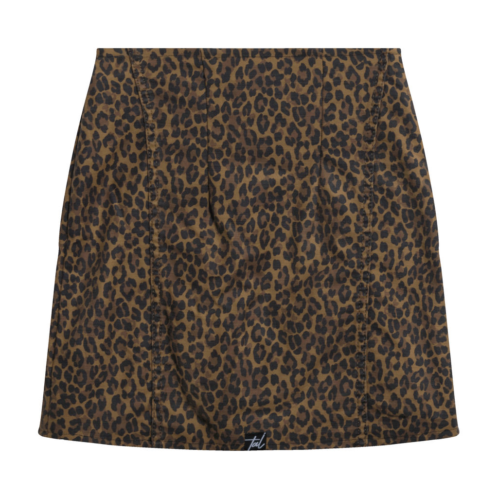 Levi's Premium High Waisted Leopard Skirt