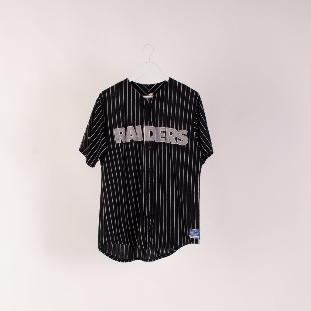 Raiders Baseball Jersey