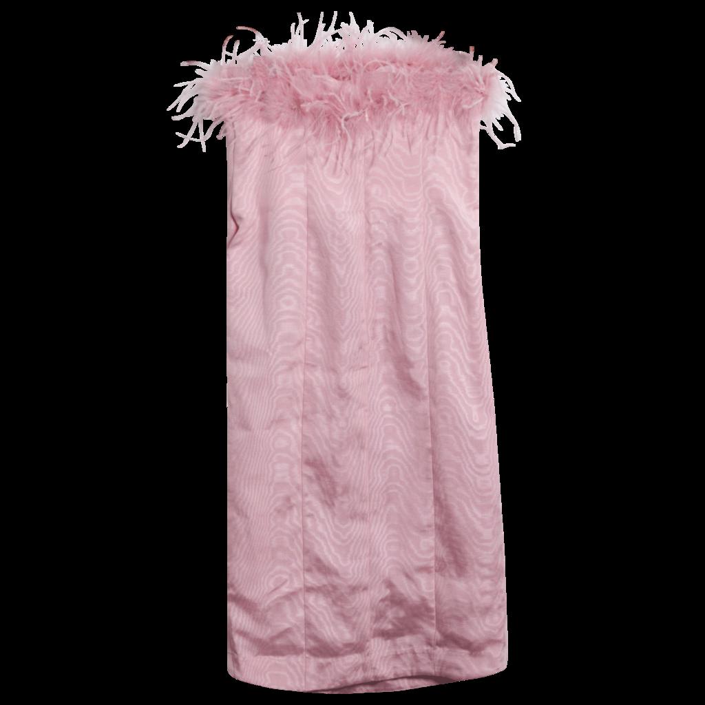 LPA Astrid Feathered Tube Dress