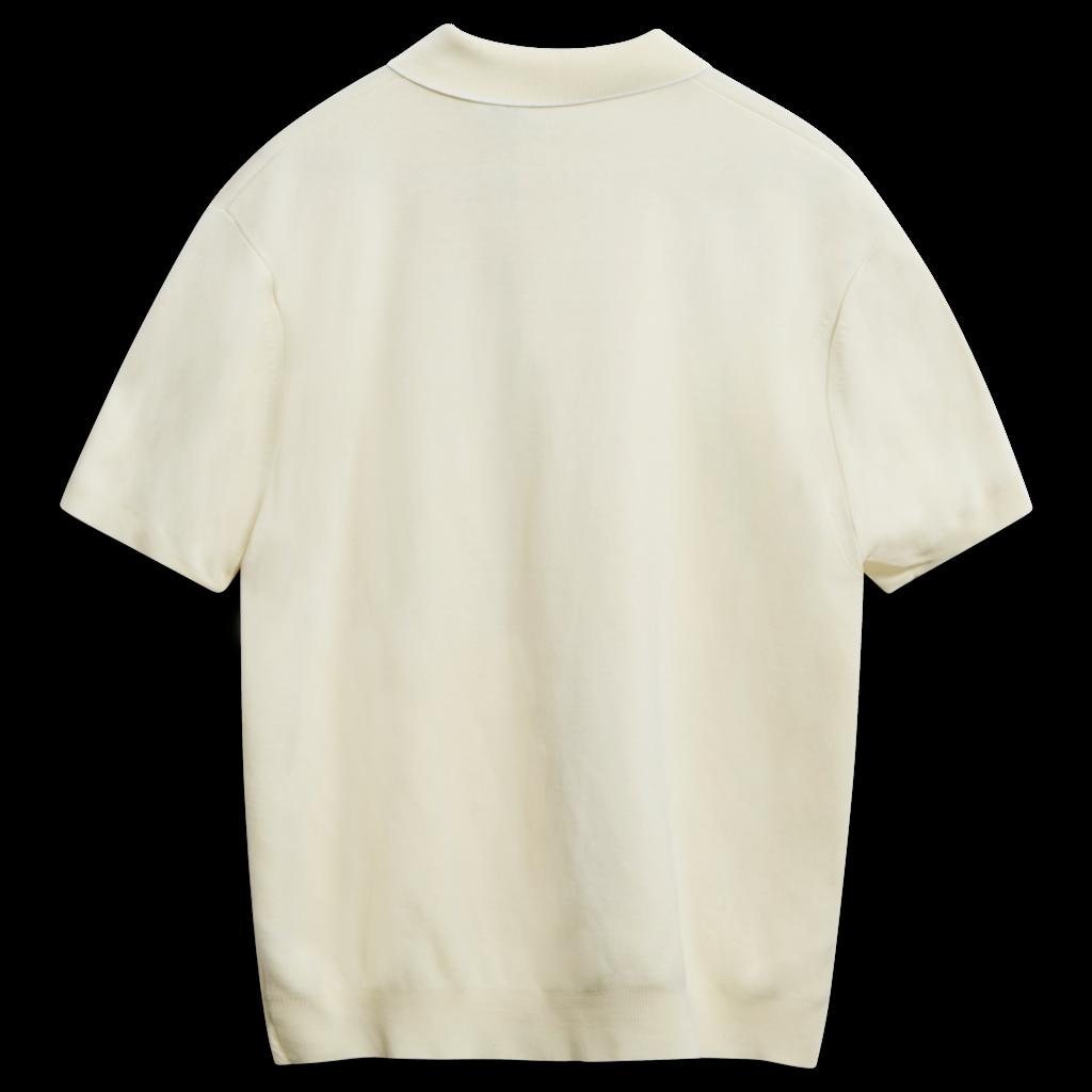 Vintage Ban-Lon Knit Polo Top - Lemon