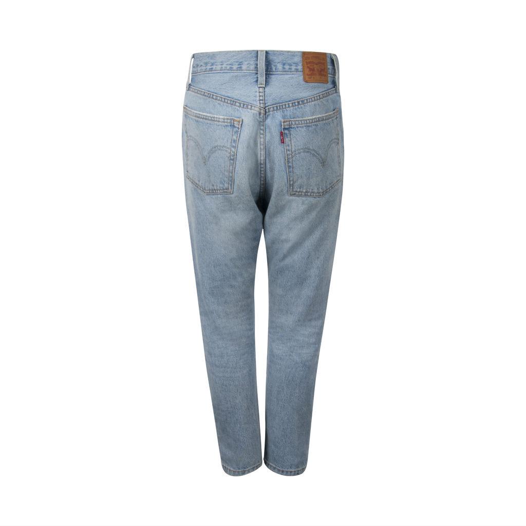 Levis 501 Skinny Jeans - Light Wash