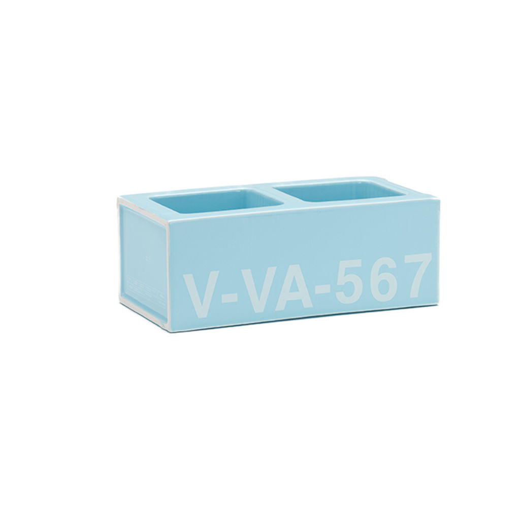 Ceramic Block Baby Blue