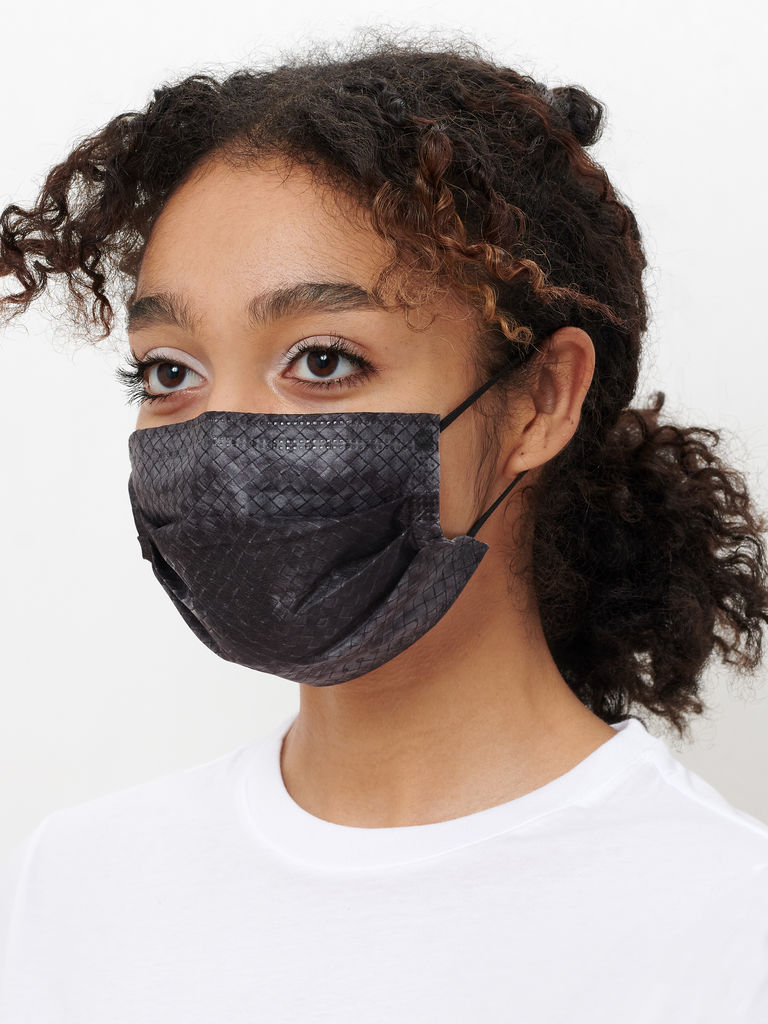 Basketweave Mask Pack - Black