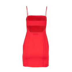 Fame and Partners Cutout Back Mini Dress curated by Sami Miro