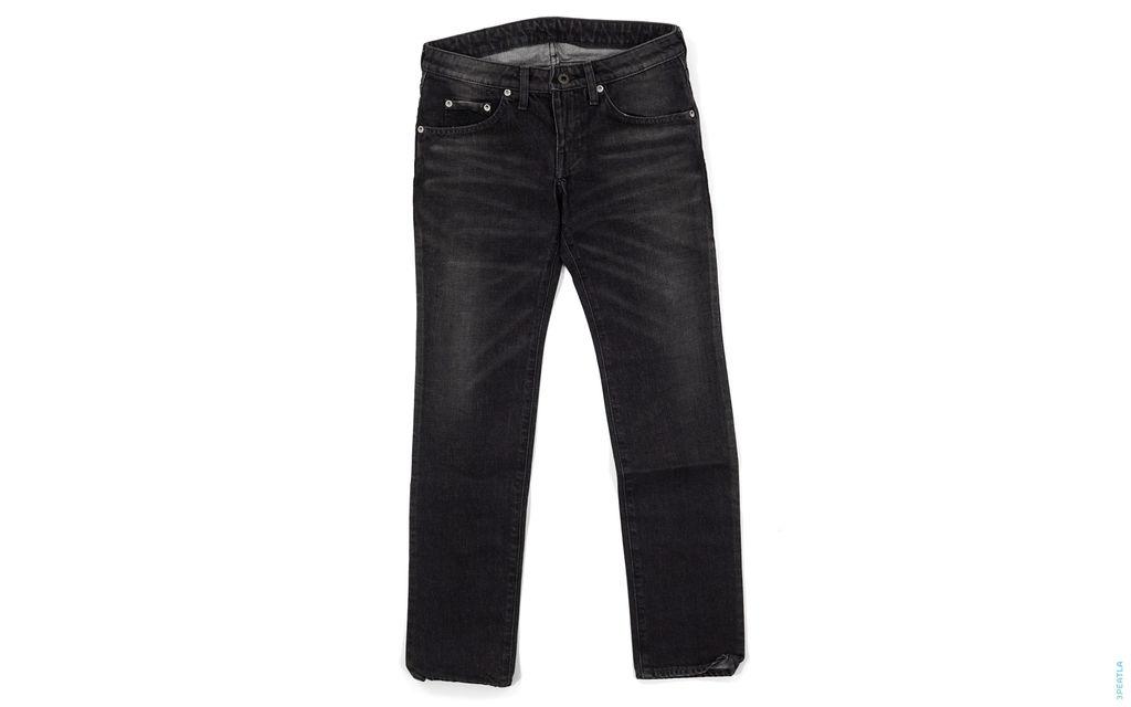 Raging Ape Sta Chain Stitch Pocket Vintage Wash Denim black