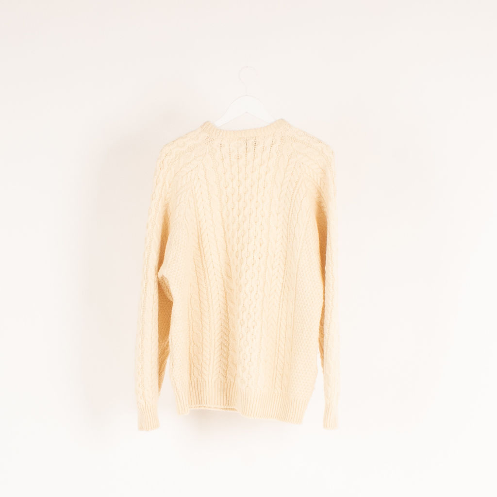 Carrig Donn Wool Fisherman Sweater