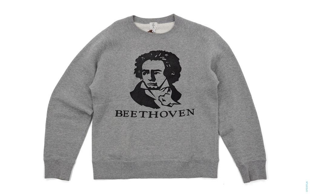 Beethoven Crewneck Sweatshirt grey